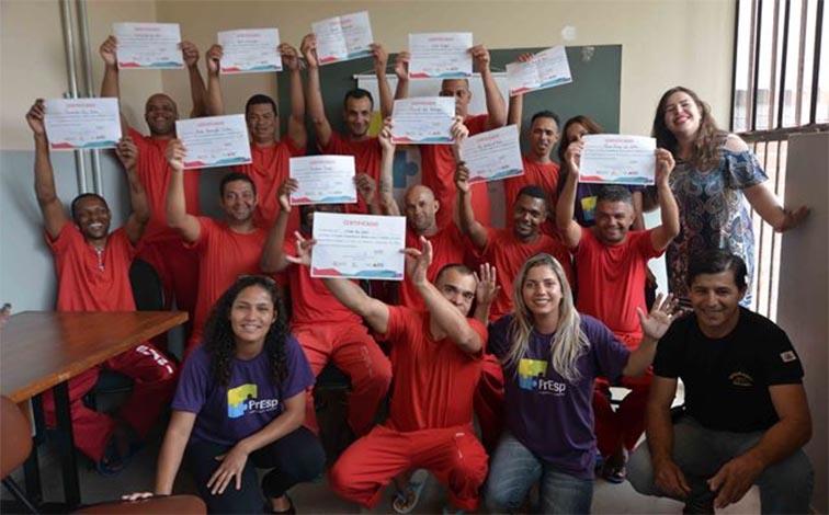 Detentos da Nelson Hungria finalizam curso para voltar ao mercado de trabalho