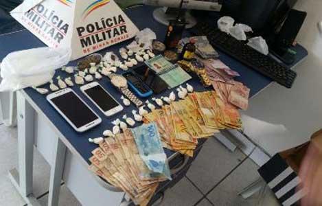Polícia prende traficantes no Glória