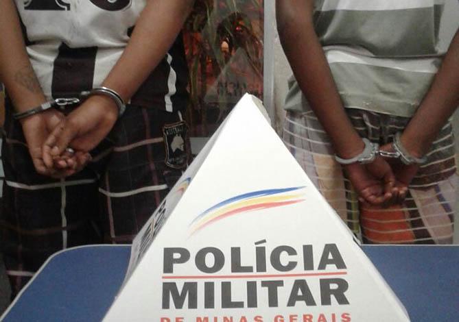 Menores são apreendidos por assalto e envolvimento com o tráfico