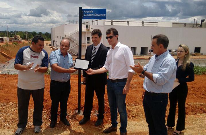Ompi realiza inauguração de avenida que liga ao Parque Industrial da empresa