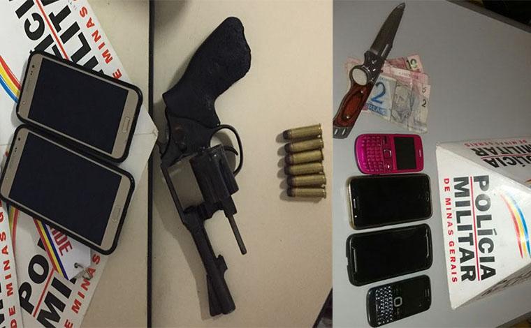 Polícia prende bandidos que assaltavam em Sete Lagoas