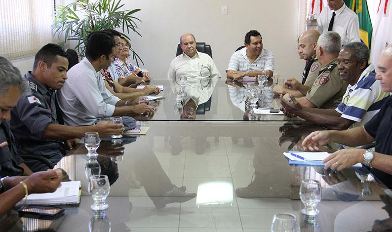 Conselho Municipal de Defesa Social apresenta demandas ao prefeito
