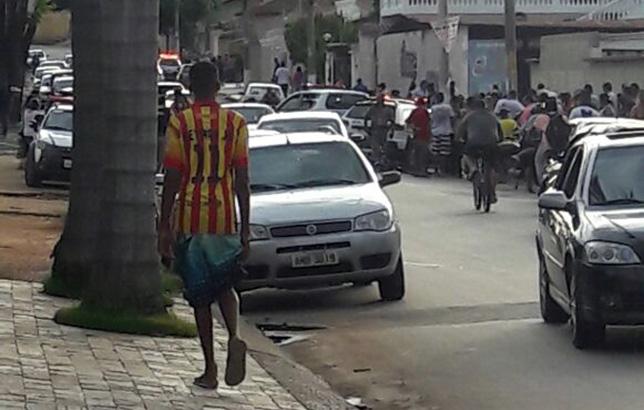 Idoso é baleado durante assalto no Bairro Santo Antônio