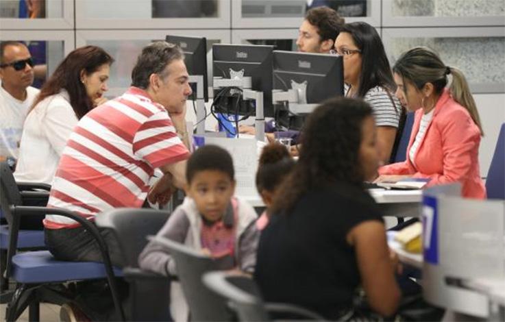 Caixa registra 356 mil atendimentos sobre dúvidas do saque do FGTS