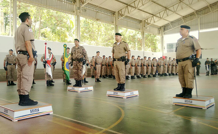 PM promove trocas de comando em Sete Lagoas e aguarda visita do governador
