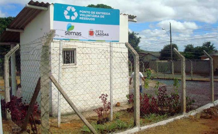 Prefeitura implanta Ponto de Entrega Voluntária de Resíduos no Nova Cidade