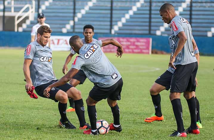 Galo treina na Argentina em preparação para a estreia na Libertadores