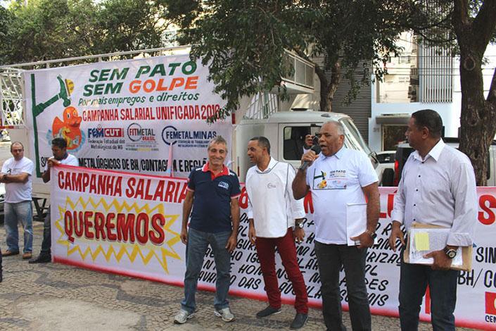 Metalúrgicos iniciam campanha salarial esperando reabertura de empresas