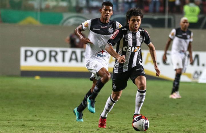 Atlético atropela o Tupi e retoma liderança do Mineiro