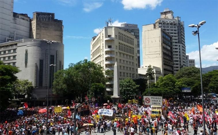 Protestos contra as reformas da Previdência e Trabalhista se espalham pelo país