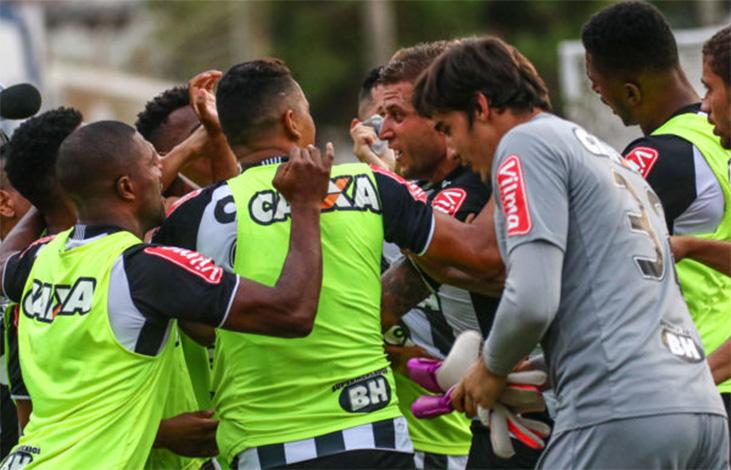 Galo vence mais uma fora e se garante na semifinal do Mineiro