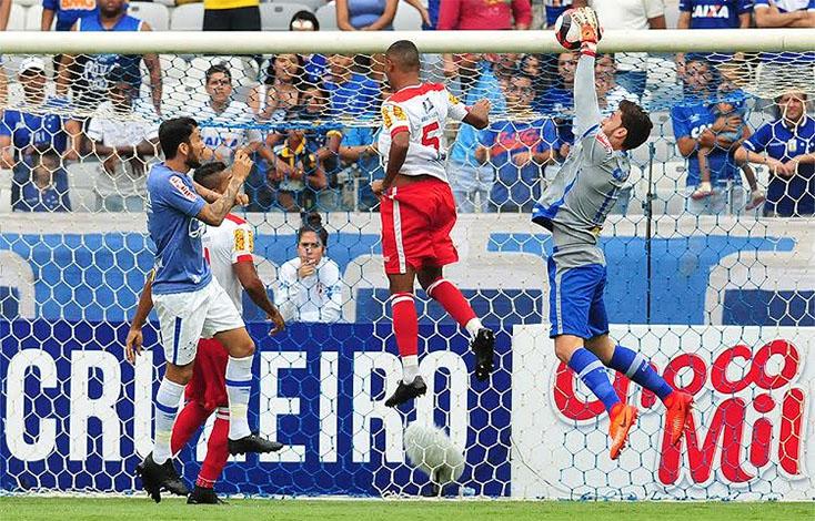 Cruzeiro empata em casa e se distancia da liderança do Mineiro