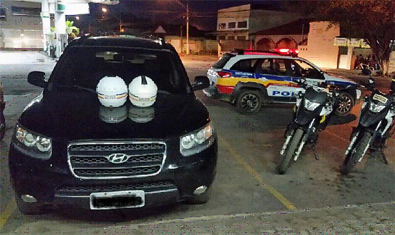 Durante patrulhamento, PM recupera carro roubado no Bairro Boa Vista
