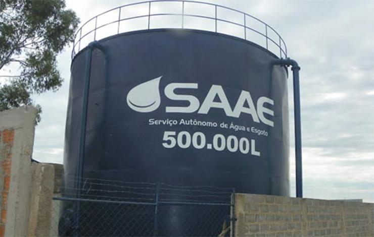 Sancionada lei que autoriza parcelamento de dívida do Saae