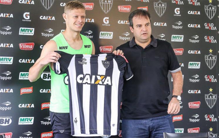 Marlone chega ao Atlético falando em títulos e em fazer história