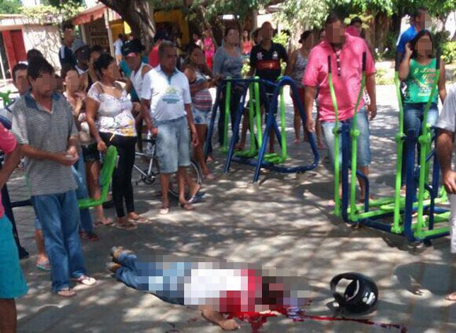 Homem de 45 anos é morto durante emboscada em Papagaios