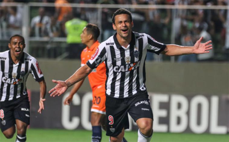 Com show de Fred, Galo goleia Sport Boys na Libertadores