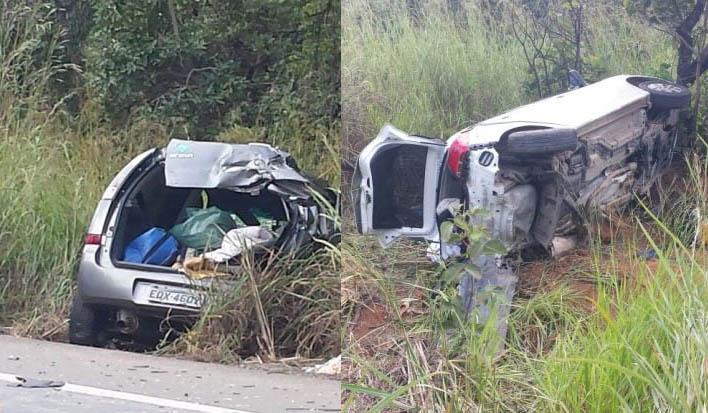 Tragédia: Acidente deixa mortos e feridos na BR 135, em Curvelo
