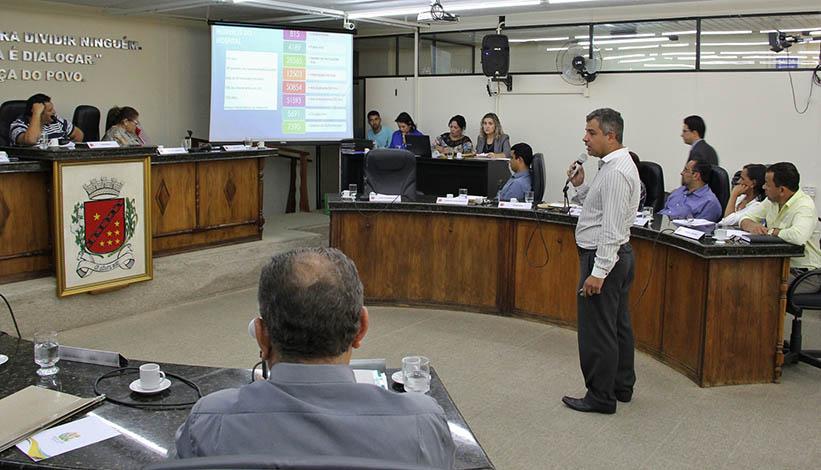 Diretoria expõe situação financeira do HNSG na Câmara