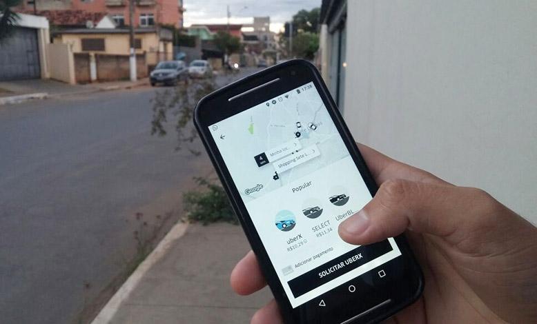 Prefeirura não foi notificada sobre operação da Uber em Sete Lagoas