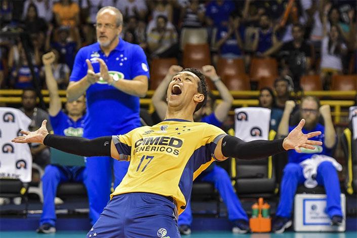 Implacável, Sada Cruzeiro se sagra o maior campeão da história da Superliga