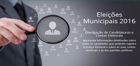 ELEIÇÕES 2016: Candidatos devem verificar dados e fotos na internet