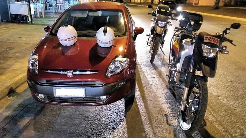 PM prende homem com carro clonado em Sete Lagoas