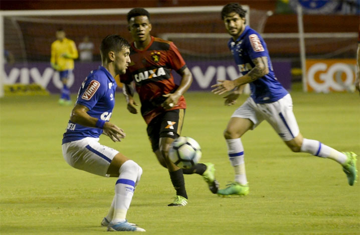 Cruzeiro e Sport ficam no empate na Ilha do Retiro