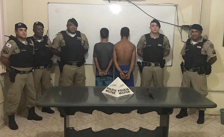 PM prende autores de tentativa de roubo em Paraopeba