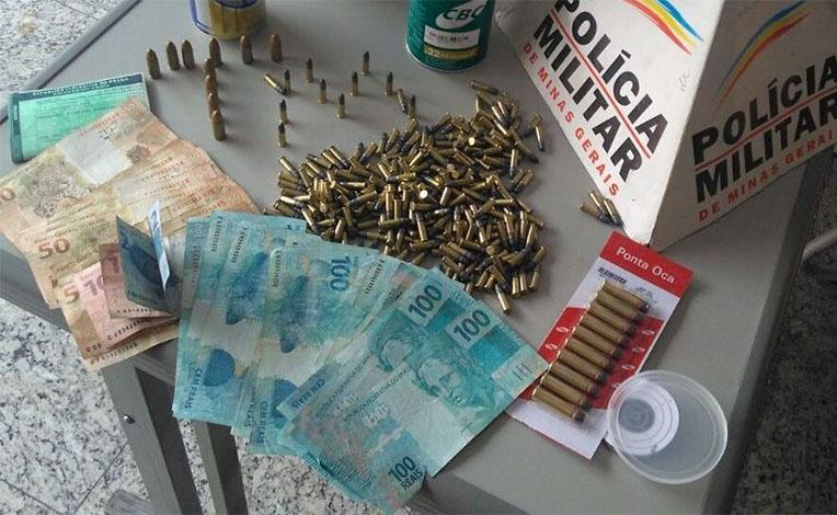Operação da PM apreende grande quantidade de munições no Interlagos II