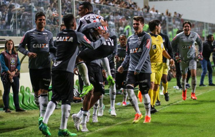 Em noite de gol olímpico, Galo despacha o Paraná na Copa do Brasil