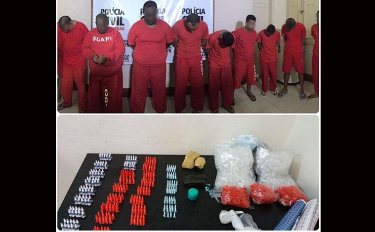 Polícia Civil desarticula quadrilhas que traficavam drogas na região