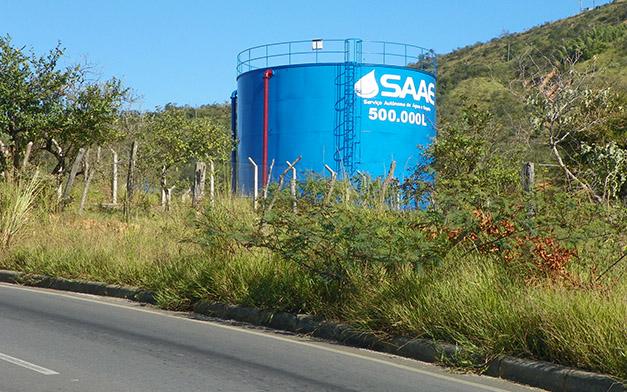 Saae espera gerar mais 80 mil litros de água por hora com obras de interligação