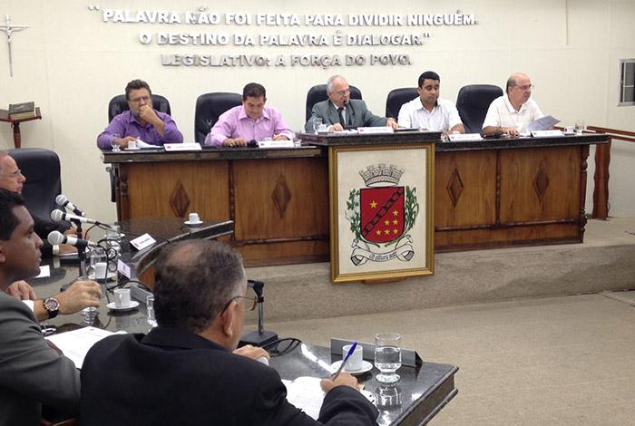 Câmara de Sete Lagoas aprova vários anteprojetos em reunião ordinária