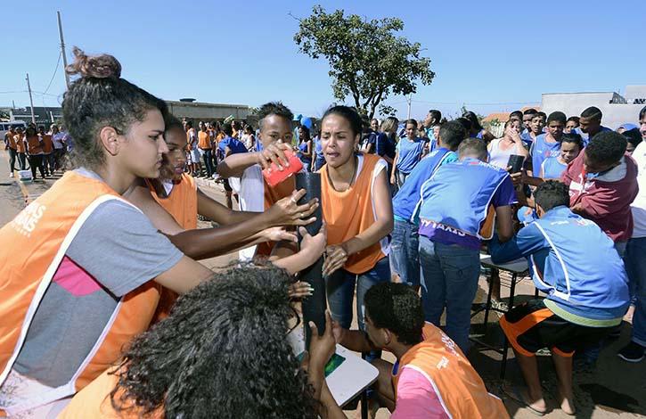 Gincana de prevenção às drogas reúne 600 alunos em Sete Lagoas