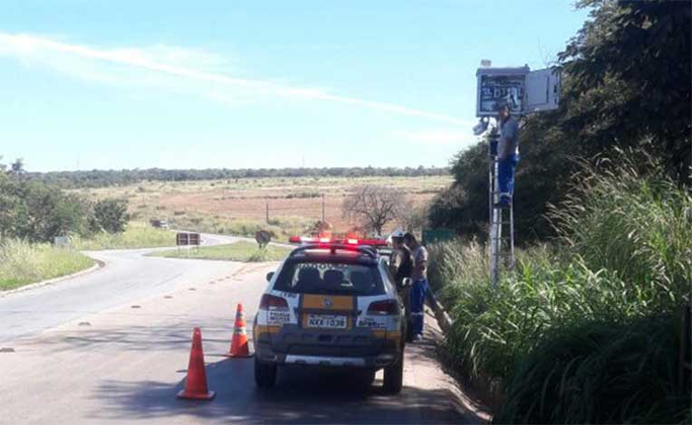 Novos radares começam a multar em várias regiões do estado