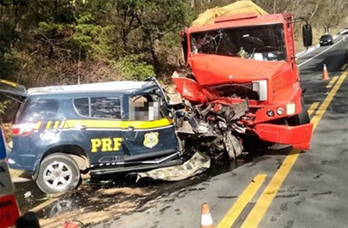 Policial rodoviário federal morre em acidente na BR 135