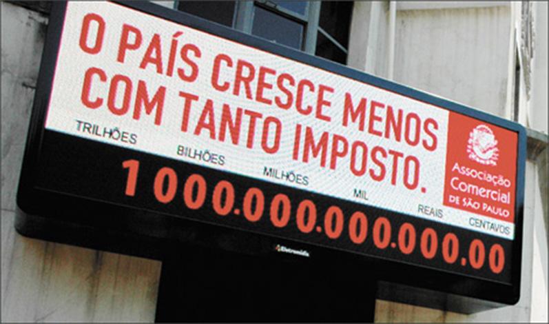 Brasileiros já pagaram mais de R$ 1 trilhão em impostos em 2017