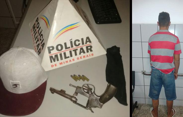 Polícia monta cerco e prende autor de roubos escondido debaixo da cama