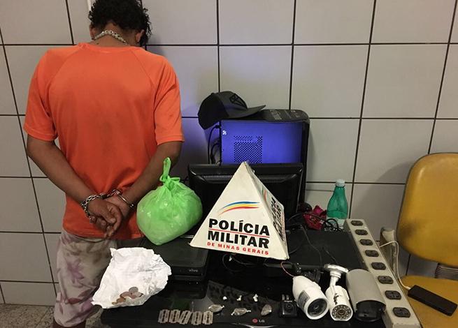PM prende traficante no Bairro Orozimbo Macedo, em Sete Lagoas