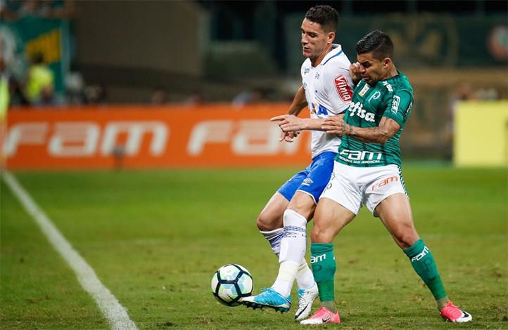 Cruzeiro e Palmeiras empatam em grande jogo pela Copa do Brasil