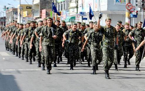 Desfile cívico mantém a tradição do 7 de setembro em Sete Lagoas