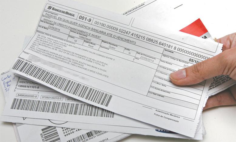 Boletos vencidos poderão ser pagos em qualquer banco a partir desta segunda