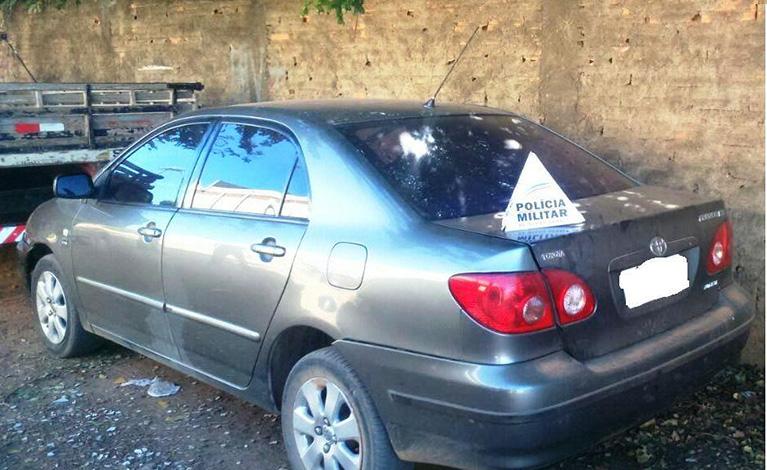 PM persegue bandido em Sete Lagoas e recupera carro furtado