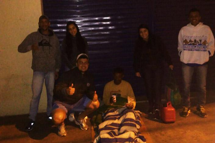 Máfia Azul de Sete Lagoas segue com campanha para arrecadar agasalhos