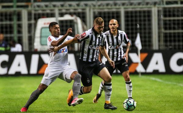 Galo perde em casa para o Santos e breca reação no Brasileirão