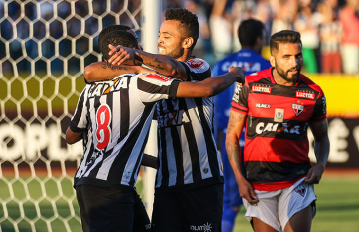 Galo vence fora de casa e sobe na tabela de classificação do Brasileirão