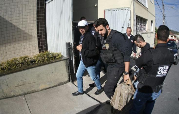 Ex-prefeitos de Esmeraldas são detidos pela Polícia Civil por corrupção
