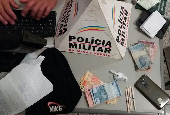 PM prende dupla autora de roubos e segue à procura de terceiro suspeito