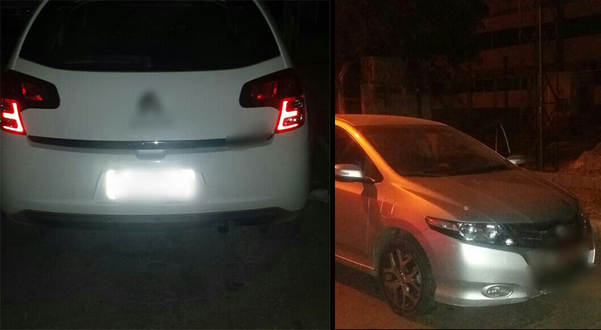 Carros roubados são recuperados pela PM em Sete Lagoas